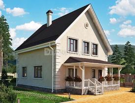 Проекты домов из керамзитобетона с мансардой поликарбонат бетон