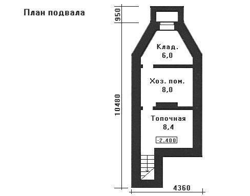 Дом 15×15 м. с двускатной крышей