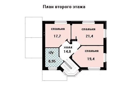 Проект дома 13,2×9,3 м. с двускатной крышей