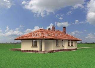 Проект дома 17,6×14,6 м. с четырехскатной крышей