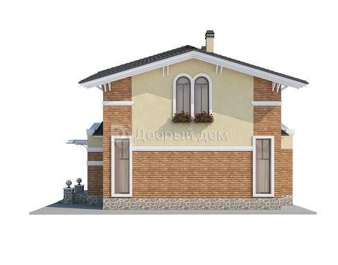 Проект дома 10,8×8,4 м. с четырехскатной крышей