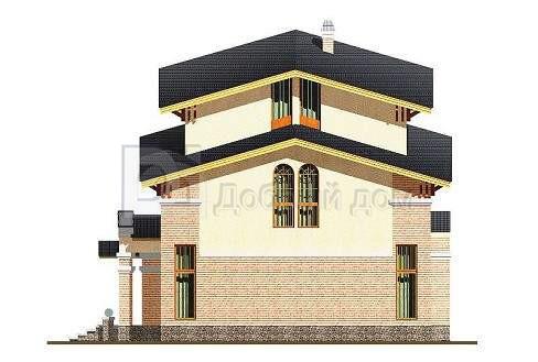 Дом 11,65×9,4 м. с четырехскатной крышей