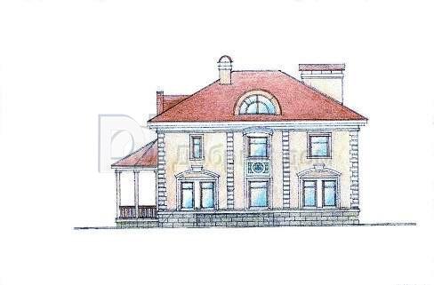 Дом 15,3×13,5 м. с четырехскатной крышей