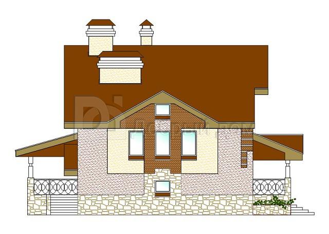 Дом 15×9,6 м. с двускатной крышей